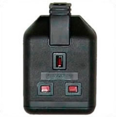 Connector England BS1363 13A 250Volt schwarz