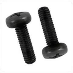 Schraube - M6 schwarz 19mm Phillips Head Rack Screw