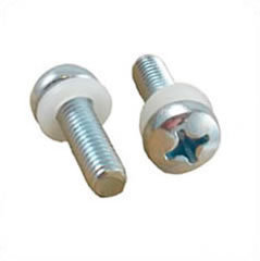 Schraube - M6 silber 13mm Phillips Head Rack Screw