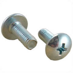 Schraube - M5 silber 19mm Phillips Head Rack Screw